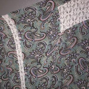 Cacique Tops - Cacique Kimono /Lingerie Cover Up Size 26/28